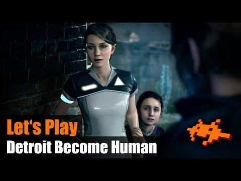 Detroit Become Human #06: Auf der Flucht [PS4 Pro]