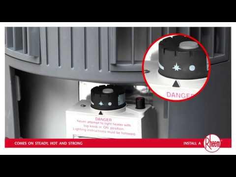 How to relight Rheem Stellar Gas Hot Water