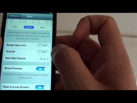 iPhone 5: How to Change New Email Sound