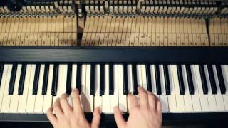"Robot Koch ""Care"" feat. Julien Marchal - Piano Tutorial  (Sub - Eng)"