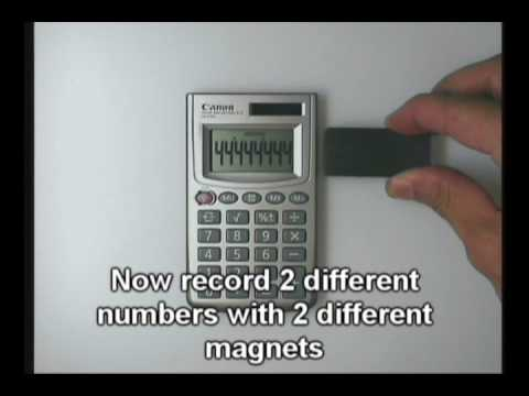 Magnets Have Memory!