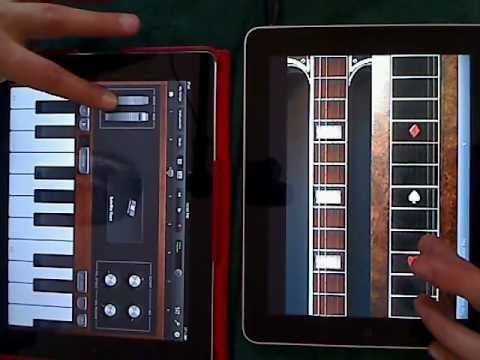 Jamming with Pedal to the Steel on iPad
