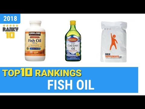 Best Fish Oil Top 10 Rankings, Review 2018 & Buying Guide