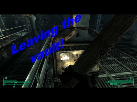 Escaping the vault! | Fallout 3 Ep 2