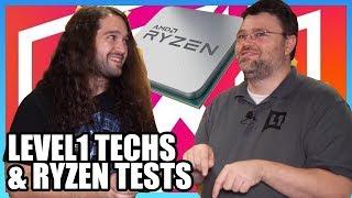 Explaining Ryzen 3000 Cache, ft. Wendell of Level1 Techs | LTX 2019