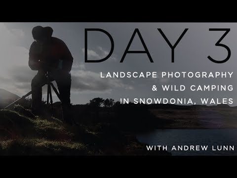 Landscape Photography & Wild Camping Snowdonia - What a discovery!