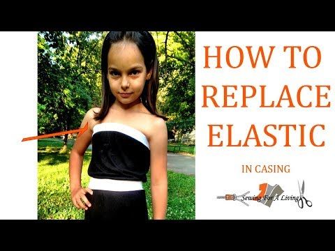 How to replace elastic
