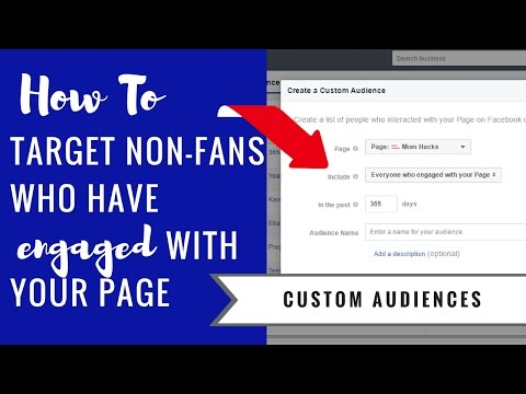 Facebook Ads: How to Target Non-Fans Who Have Engaged With Your Page
