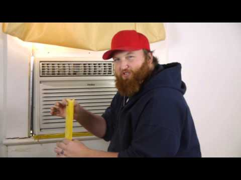 How to Seal an Air Conditioner Window Gap : Air Conditioning