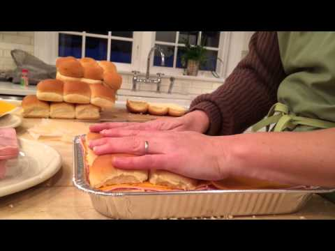ham and cheese slider recipe