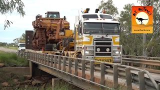 Extreme Trucks #3 - Monster Road Trains Oversize wide loads outback Australia, camhinoes ao extremo