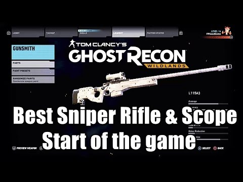 Ghost Recon Wildlands – Find The Best Sniper Rifle And Sniper Scope (Start of the game)