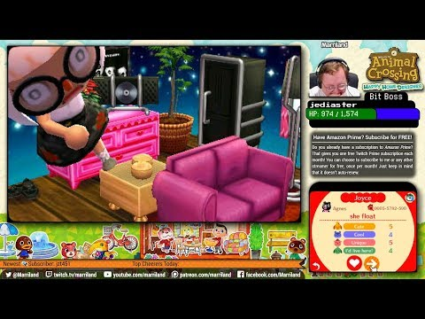 Animal Crossing: Happy Home Designer • Agnes' House (she float) • August 1 • (STREAM ARCHIVE)