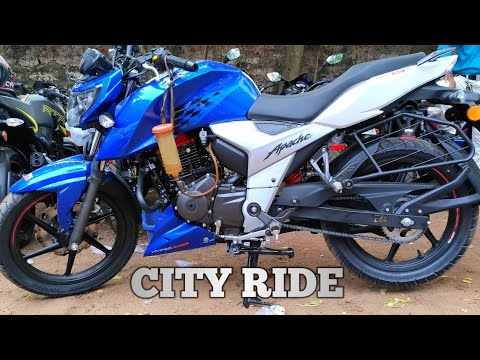 TVS APACHE 160 4V FIRST RIDE REVIEW! - The Most Popular High