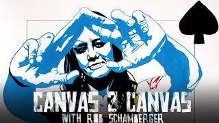 The Queen of Spades goes all in! - Canvas 2 Canvas