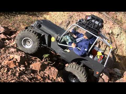 rc Jeep 71 - scale trail & rock crawling Willys - Quarry Hills 4x4
