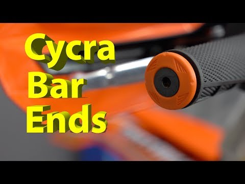 Cycra Bar Ends for your Dirt Bike   Install and Review