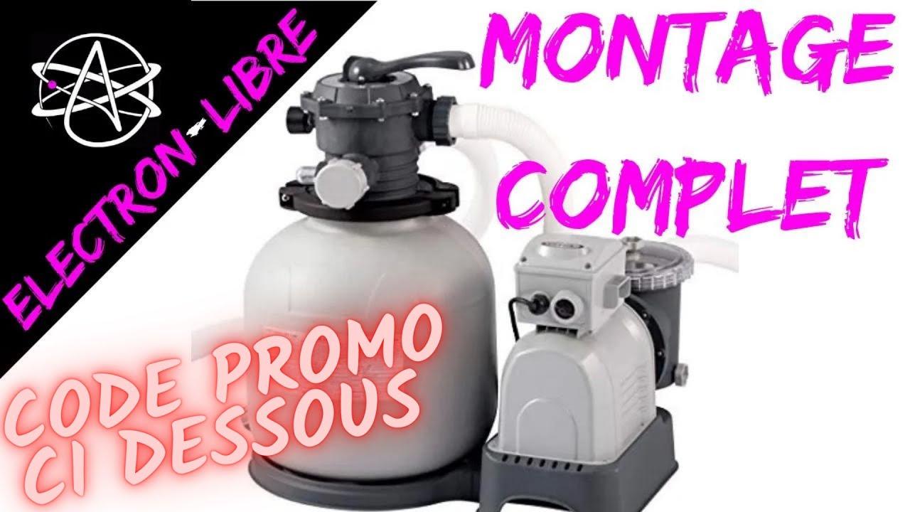 MONTAGE POMPE A SABLE 9.5 M3/H INTEX