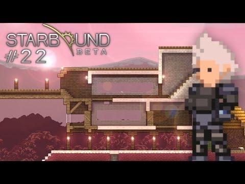 Scythe Plays Starbound - S1E22 - Building a House (Let's Play Walkthrough)