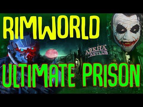 Rimworld Ultimate Prison (Non-Geneva Convention)