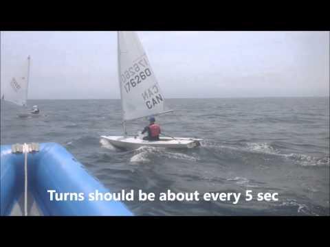 iHack @ international Sailing Academy - Downwind laser Clinic