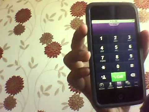 iPhone App - Viber Free call for ipod touch.