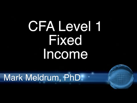 19.  CFA Level 1 Introduction to Fixed Income Valuation LO4 Example