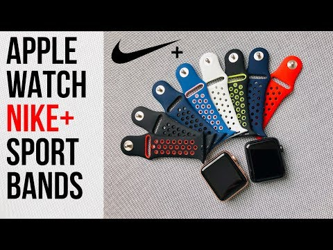 8 NIKE+ Bands For Apple Watch⌚️Series 3 Series 2 Series 1