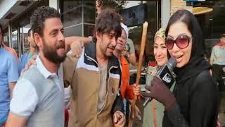 #x202b;عقارب الساعة | محمد نجاتي ياكل علقة موت في الشارع بعد ضربه زوجته دعاء صلاح بالصوت والصورة#x202c;lrm;
