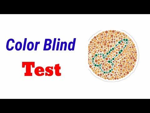 Color Blind Test