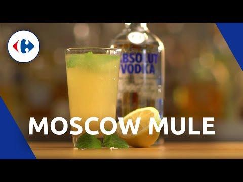 Recette Cocktail Moscowmule (cocktail à base de vodka)