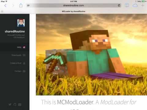 HOW TO INSTALL MINECRAFT PE MODS ALL VERSIONS