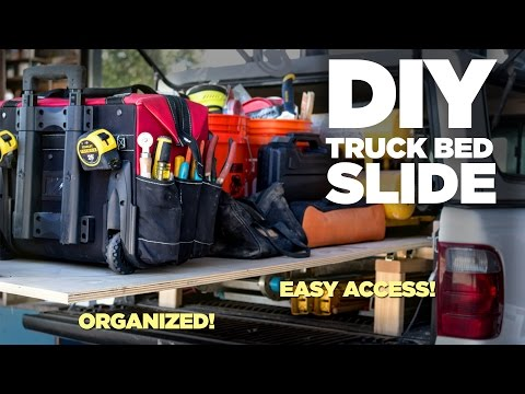 Mike Makes a Rolling Truck Bed Slide