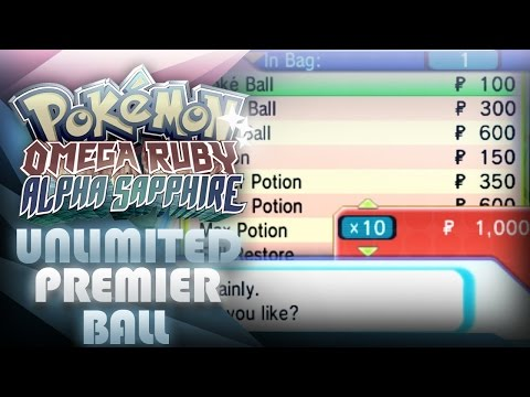 How to make UNLIMITED money on Pokemon ORAS