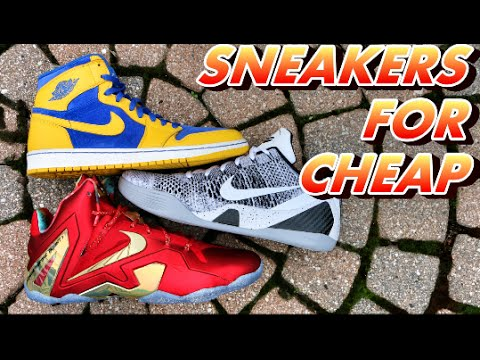HOW TO GET SNEAKERS FOR CHEAP