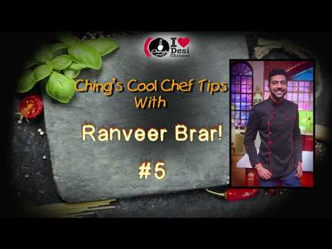 Ranveer Ching Cooking Tip 5 - Egg Replacement (How to make a cake without egg)