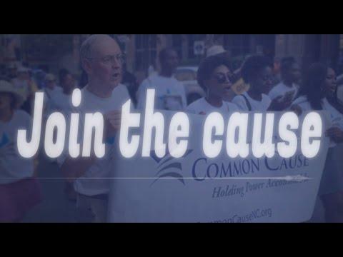 We are Common Cause North Carolina