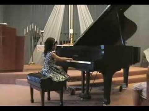 Elysha's Piano Recital 2007-05-20