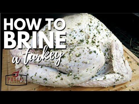How To Brine A Turkey - Easy Turkey Brine Recipe for Smoked Turkey