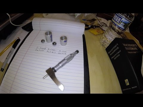 Measuring an internal taper using two balls
