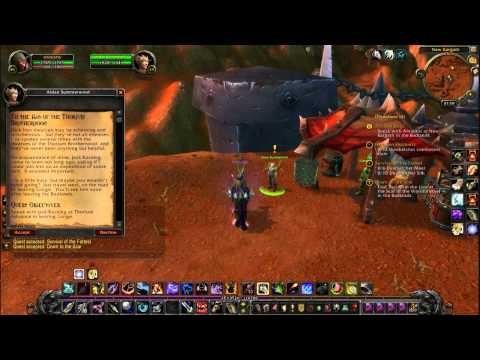 Let's Play World Of Warcraft Part32 Badlands Titan Artifacts