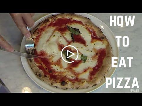 HOW TO EAT PIZZA LIKE ITALIANS -  PIZZA 90 IRVINE, CA