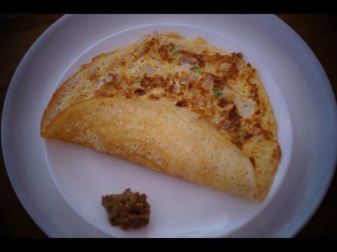 Egg Dosa in Telugu