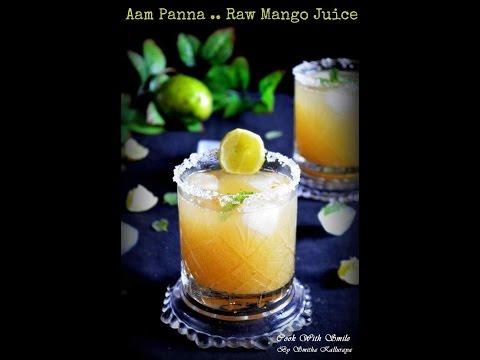 AAM PANNA RECIPE / RAW MANGO JUICE / RAW MANGO SQUASH RECIPE