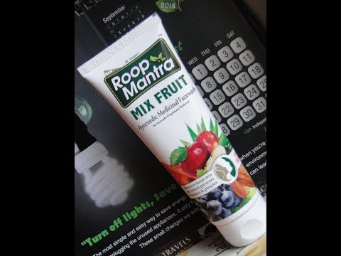 Roop Mantra Mix Fruit Facewash Review - Glam & Swag