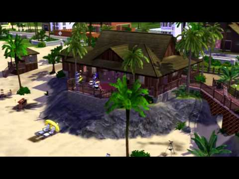 The Sims 3 - Community Lot - Pearl Beach