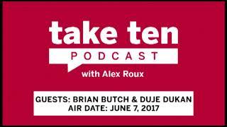 Take Ten with Alex Roux: Brian Butch and Duje Dukan | Wisconsin | Big Ten Basketball