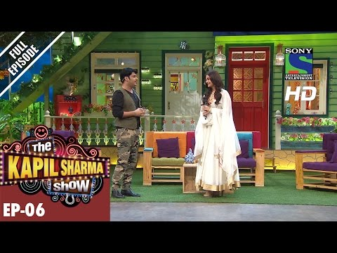The Kapil Sharma Show - दी कपिल शर्मा शो–Ep-6 -Aishwarya Rai Bachchan in Sarabjit –8th May 2016