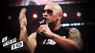 The Rock's Best Verbal Smackdowns: WWE Top 10