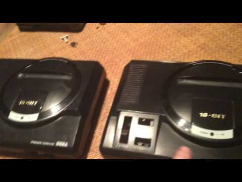 SEGA Megadrive Model 1 Retro Video Games Consoles MK1